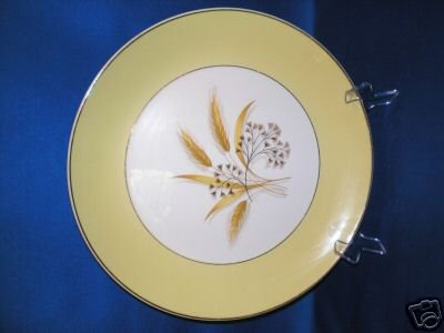 DINNER PLATE HOMER LAUGHLIN CENTURY SERVICE AUTUMN GOLD
