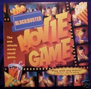 BLOCKBUSTER MOVIE GAME--ACTION PACKED ADVENTURE!!