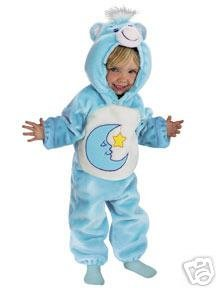 CARE BEARS Bedtime*Toddler*Costume*NEW*12-18 Months