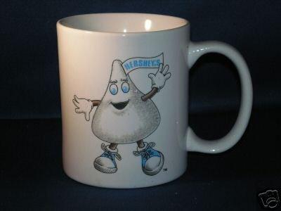 HERSHEY'S CHOCOLATE KISS COFFEE CUP AS SHOWN