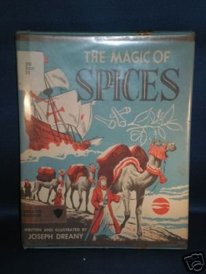 VINTAGE BOOK AS SHOWN~THE MAGIC OF SPICES~1961