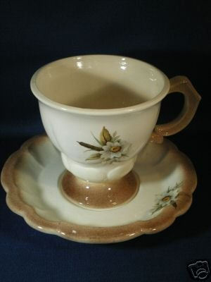 FLORAL TEA CUP AND SAUCER SET AS SHOWN