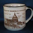 WASHINGTON DC U.S. CAPITOL BUILDING COFFEE MUG