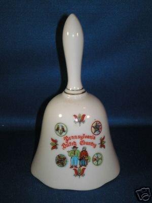 COLLECTIBLE BELL AS SHOWN~PENNSYLVANIA DUTCH COUNTRY