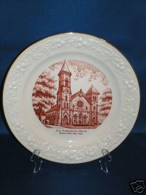 COLLECTOR PLATE 1st PRESBYTERIAN CHURCH SENECA FALLS NY