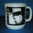 W.C. FIELDS CUP MUG MILK GLASS JOHN BARRYMORE