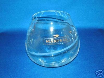 GLASSWARE AS SHOWN-MARTELL COGNAC GLASS