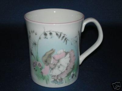 ELIZABETHAN MRS RABBIT BABY CUP BONE CHINA