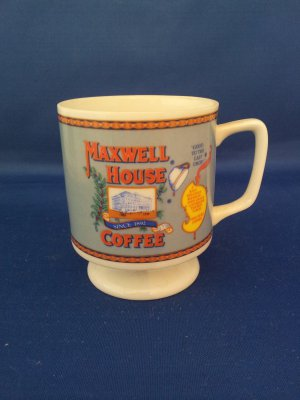 VINTAGE MAXWELL HOUSE COFFEE MUG AS SHOWN