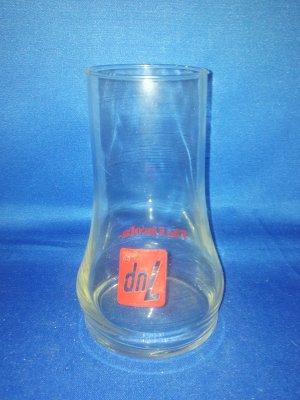 GLASSWARE AS SHOWN~7 UP THE UNCOLA