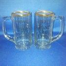 GLASSWARE~SET OF 2 GRAND OLE OPRY BEER STEINS
