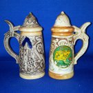 VINTAGE SALT AND PEPPER SHAKERS SET TENNESSEE STEINS
