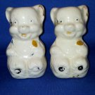 VINTAGE SALT AND PEPPER SHAKERS SET CARTOON BEARS