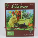 The Art Of Linda Picken 500 pc. Puzzle - Furry Friends