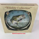 Wildlife Collection Large mouth Bass Wall Clock  2012