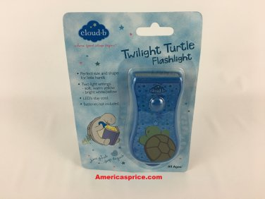 Cloud-b Twilight Turtle Blue Flashlight
