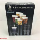 Gourmet Traditions 6 Piece Container Set
