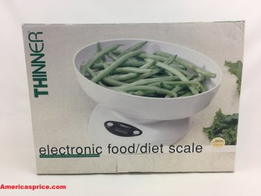 Measurement Specialties Thinner Electronic Food/Diet Scale - MS-6001