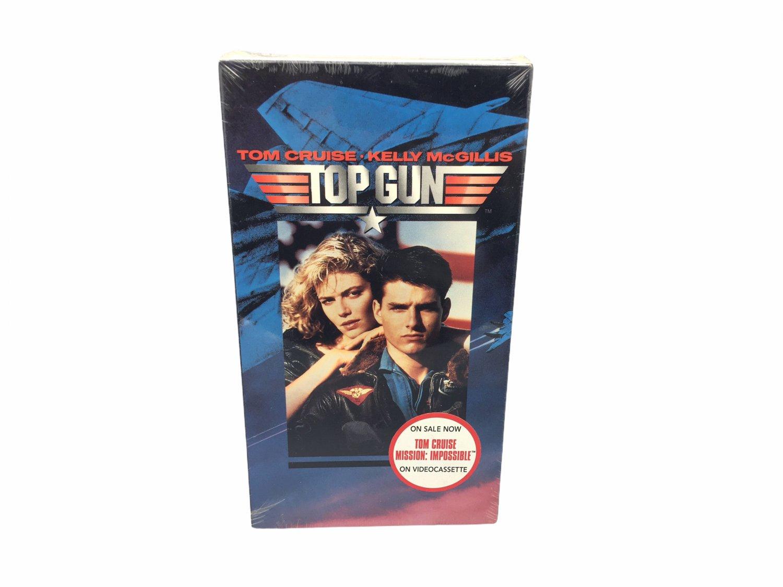 Tom Cruise, Kelly McGillis, Top Gun VHS Home Video