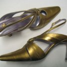 Silver Size 12 Bellini Styled Statute Dress Shoes