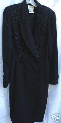 """""""Chancelle"""" Black, Embellished, Size 10 Dress"""