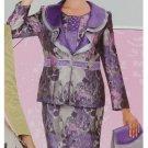 Size 8 Woman's Elite Champagne Suit 3864