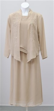 Woman's  Champagne Colored Suit