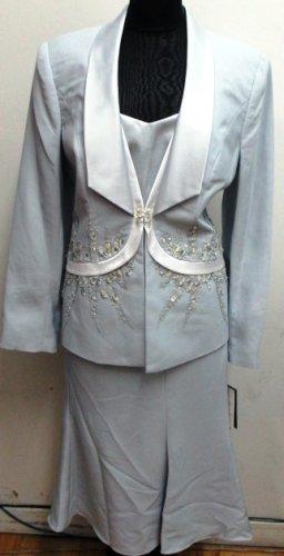 Silver Gray Elite Champagne Suit