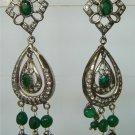 sz 5 cz Indian traditional Handmade twotone bangle bracelet jewelery