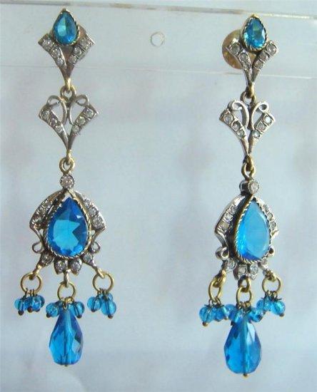 sz 5 cz solitaire ruby emerald twotone bangle bracelet jewelery openable