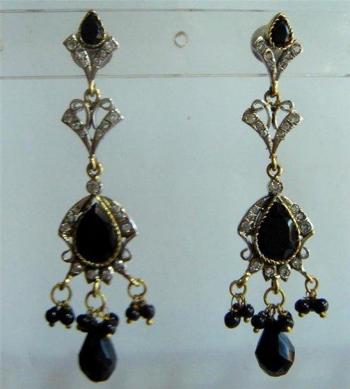 sz 5 cz handmade twotone bangle bracelet jewelery openable