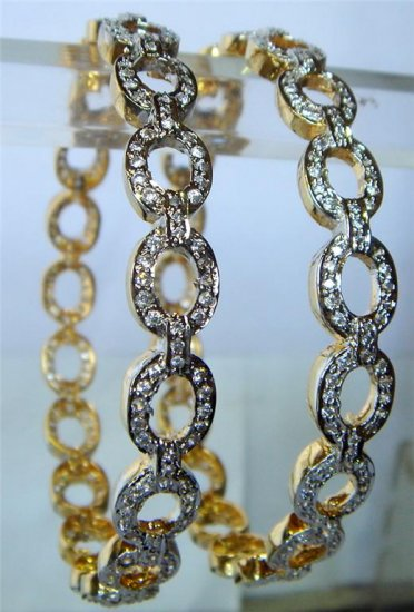 multicolour matching antique style cz dangler earing jewelery