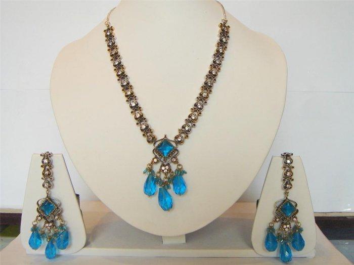 sz 7.5 indian handmade cz twotone finger ring jewelery