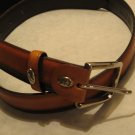 Carnaval De Venise brown leather belt  Italy M
