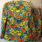 Vintage Givenchy floral skirt suit