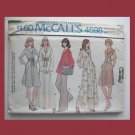 McCall's Vintage Sewing Pattern, #4598, Size 8, 1975, Misses Dress,Top,Pants
