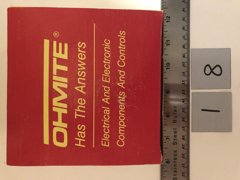 Ohmite B20J250 250 Ohm 20 Watt Wirewound Ceramic Power Resistor Qty. 1
