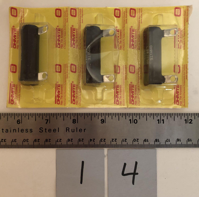 Ohmite Resistor L25J250 25 Watt 250 Ohm Qty 1