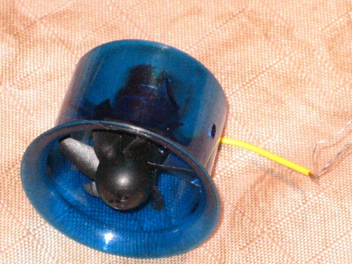 16 gram EDF small and light ducted unit for micro jet