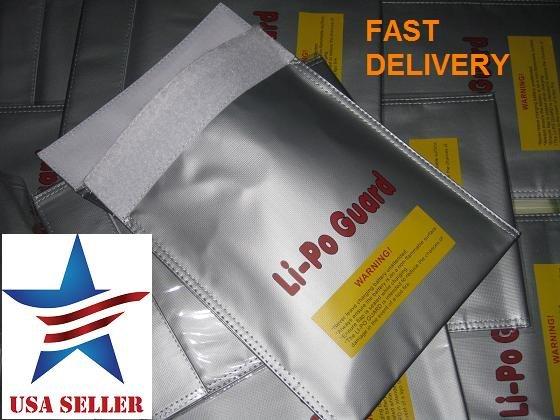 Large Li-Po Safe, Lipo Bag, Sack LP-Guard for Lithium battery charging
