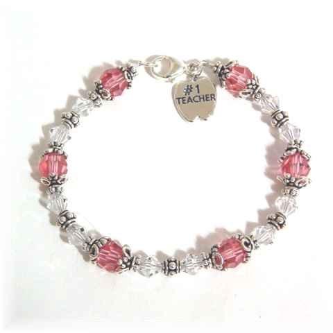Custom Designed Birthstone or Favorite Color Bracelet
