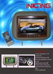 Car Headrest LCD Monitor CM01-03