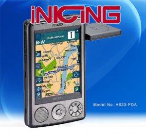 GPS Navigation Monitor  A632-PDA