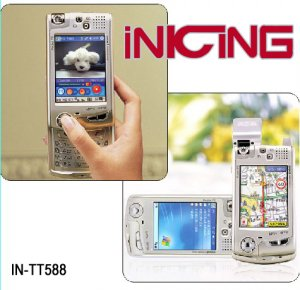 IN-TT588 GPS mobile phone with PDA