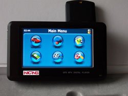 IN-400 GPS with MP4