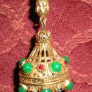 "Florenza ""Perfume or Pill"" Pendant"