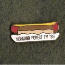 Highland Forest YMCA Folksmarch Lapel Pin