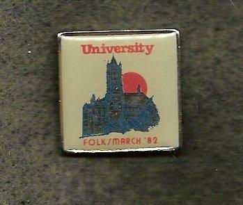 Syracuse University  Folksmarch Lapel Pin