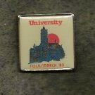 Syracuse University  Folksmarch Lapel Pin