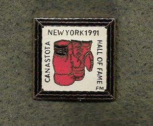 Boxing Hall of Fame YMCA Folksmarch Lapel Pin